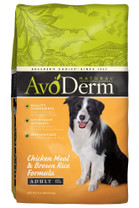Breeder's Choice AvoDerm Natural Chicken Meal & Brown Rice Adult 4.4lb