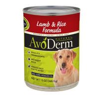 Breeder's Choice AvoDerm Natural Lamb Meal & Rice Adult 13.2oz