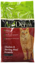 AvoDerm Natural Chicken and Herring Meal Corn Free Formula Cat Food, 3.5-Pound