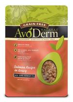 Avoderm Natural Grain Free Wet Cat Food Salmon Pouch 12/3oz