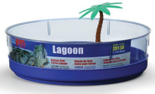 Lee's Deluxe Turtle Lagoon with Tray Label & Plant Oval 11in