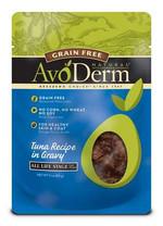 Avoderm Natural Grain Free Wet Cat Food Tuna Pouch 12/3oz