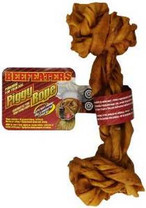 Beefeaters Piggy Rope Dog Food
