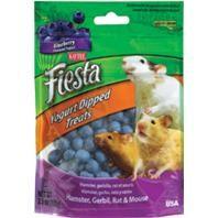Kaytee Fiesta Yogurt Dip Hamster Gerbil Blueberry 3.5oz