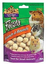 Kaytee Fiesta Krunch Arounds Small Animial Peanuts 3oz
