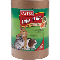 Kaytee Tube O Hay Plus Carrots Large 4oz