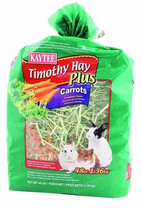 Timothy Hay Plus Carrots Small Animal Treat