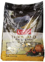 Kaytee Foraging Woodland Grey/Parrot Diet, 4-Pound