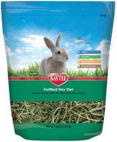 USA Wholesaler - SKT100513084 - Kaytee Vitamin Hay Diet Rabbit 2.5lb 6cs