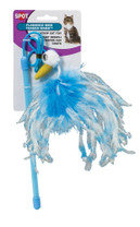 Ethical Products Spot Flamingo Mini Teaster Wand With Catnip Assorted