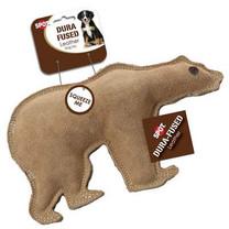 Ethical Pet Dura-Fused 7-Inch Leather Dog Toy, Large, Bear