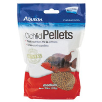Aqueon Cichlid Pellets Resealable Pouch Medium 7.5oz