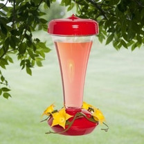 Perky-Pet Aster Top Till Hummingbird Feeder 12oz