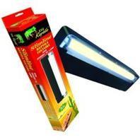 Zilla Reptile Slimline Desert Fixture Desert 50 UVB T8 Fluorescent Bulb 18in