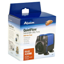 Aqueon QuietFlow Submersible Utility Pump 1700 449gph