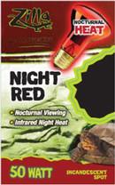 Zilla Night Red Incandescent Spot Bulb 50W