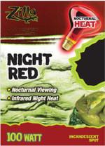 Zilla Night Red Incandescent Spot Bulb 100W