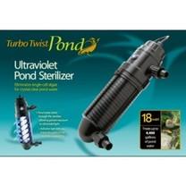 Coralife Turbo Twist Pond 8X UltraViolet Sterilizer 18W 1000gal