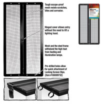 Zilla Fresh Air Screen Cover with Center Hinge 20X10