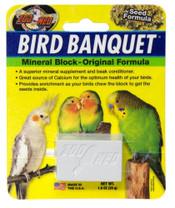 Zoo Med Bird Banquet Block Original Seed Formula Small