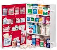 First Aid Cabinet 4 Shelf (Moore Medical)