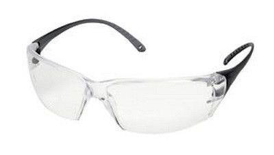 """Increase protective eyewear compliance with Helium 18. When workers who don't want to wear eyewear protection this is the answer. Extremely Comfortable. Secure Fit. Ultra-Light Eyewear! Weighs only 18 grams! ANSI Z87.1+  • Weighs only 18 grams and maintains a Class 1 optics.  • ErgoFit contour """"drop"""" temples, follows the shape and lies flat to your head.  • Fits well with hearing protectors and other PPE. • Temples securely holds the frame in place for better non-slip compliance. • Contemporary rectangular semi-frame style looks great on all face configurations.  • Ample universal nose bridge for better fit and comfort.  • Polycarbonate lenses absorbs 99.9% of harmful UV A, B and C, 180-380nm.  • Meets ANSI Z87.1-2010+, CE EN-166."""