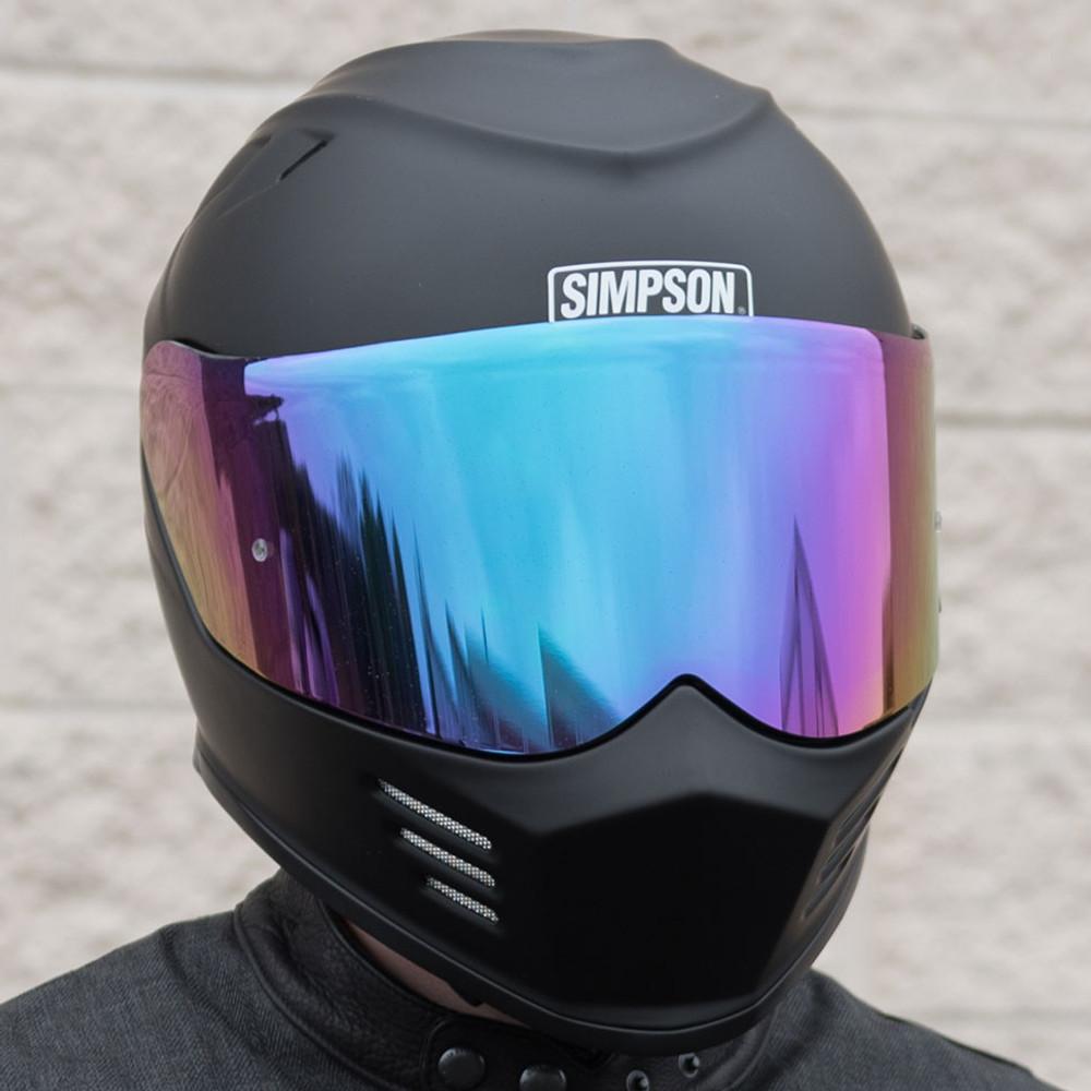 Simpson Motorcycle Helmets Ghost Bandit Face Shield Get