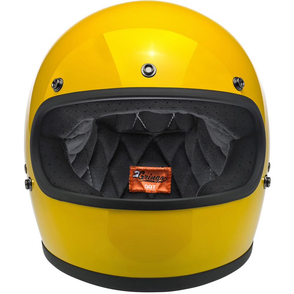 Biltwell Gringo Helmet - Safe-T Yellow