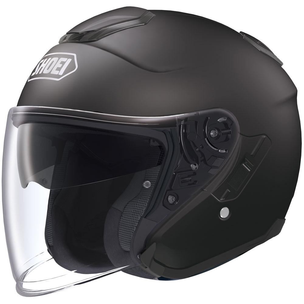 Shoei J-Cruise Open Face Helmet - Matte Black