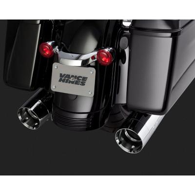 Vance & Hines Oversized 450 Slip-On Mufflers for 1995-2015 Harley Bagger