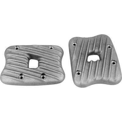 EMD Ribbed Rocker Box Covers for Harley Sportster