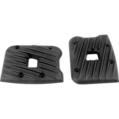 EMD Ribbed Rocker Box Covers for 1984-1999 Harley Evo Big Twin