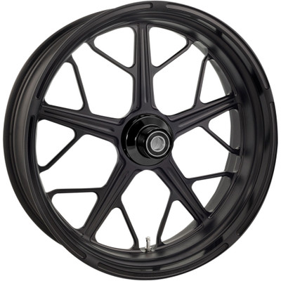 Roland Sands Hutch One-Piece Aluminum Front Wheel for Harley