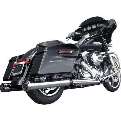 Firebrand GP Touring Slip-On Exhaust Mufflers for 2009-2015 Harley