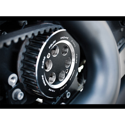 Figure Machine Pulley Cover for 2004-2016 Harley Sportster