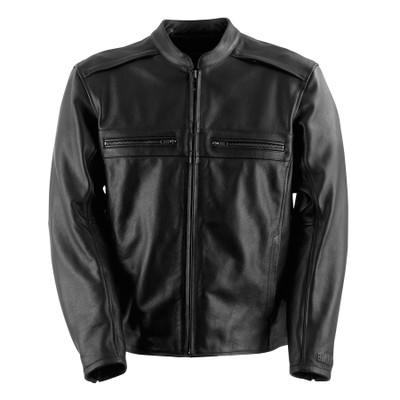 Black Brand Fahrenheit KoolTek Leather Jacket