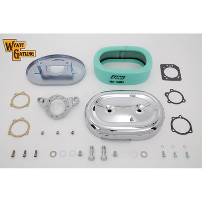 V-Twin Chrome Oval Air Cleaner for 1991-2016 Harley Sportster