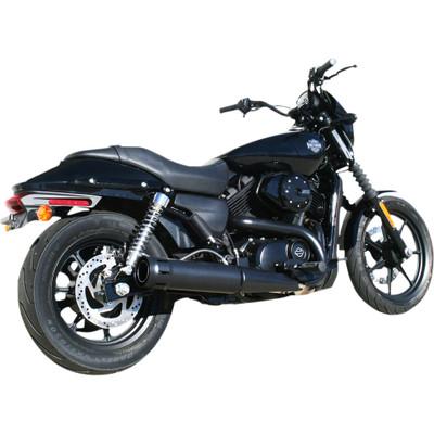 """Firebrand Exhaust 4"""" Loose Cannon Black Slip-On Muffler for XG Street"""