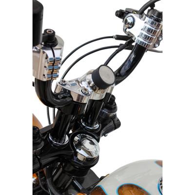 Klock Werks iOMounts Device Handlebar Clamp Mount Kit for 1984-2016 Harley