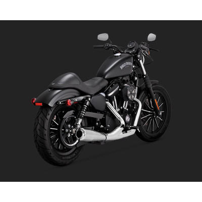 Vance & Hines Upsweep 2-Into-1 Exhaust System for 2004-2016 Harley Sportster