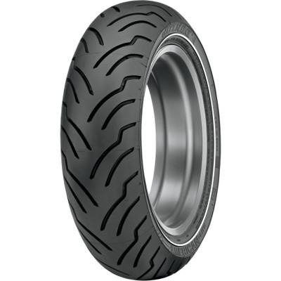 Dunlop American Elite Rear Tire for Harley - Narrow White Stripe
