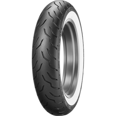 Dunlop American Elite Front Tire for Harley - Wide Whitewall