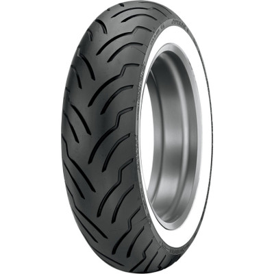 Dunlop American Elite Rear Tire for Harley - Wide Whitewall