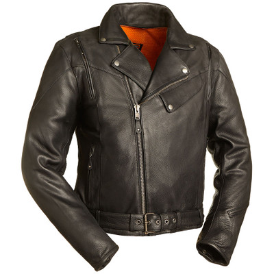 First Mfg. 60's New Yorker Leather Jacket