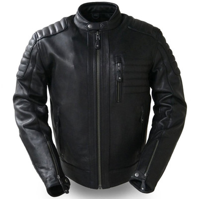 First Mfg. Defender Leather Jacket