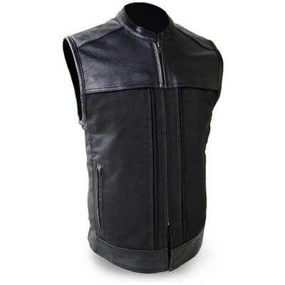 First Mfg. Hideout Leather/Textile Vest