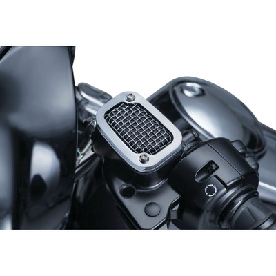 Kuryakyn Mesh Clutch Master Cylinder Cover for 2014-2016 Harley Touring