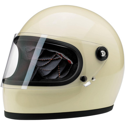 Biltwell Gringo S Helmet - Gloss Vintage White