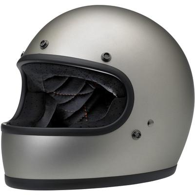 Biltwell Gringo Helmet - Flat Titanium