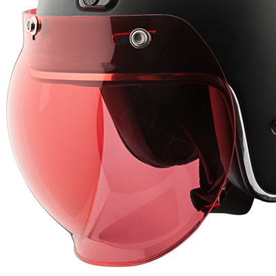 Speed and Strength 3-Snap Universal Bubble Shield - Rose